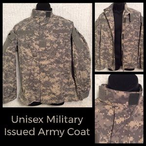 Other - Vintage Unisex Military Issued Army Jacket Coat